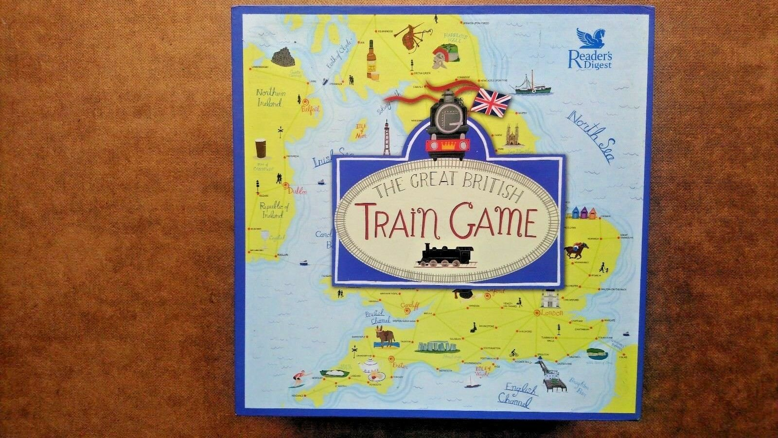 The Great British Train Game By Readers Digest (2008)