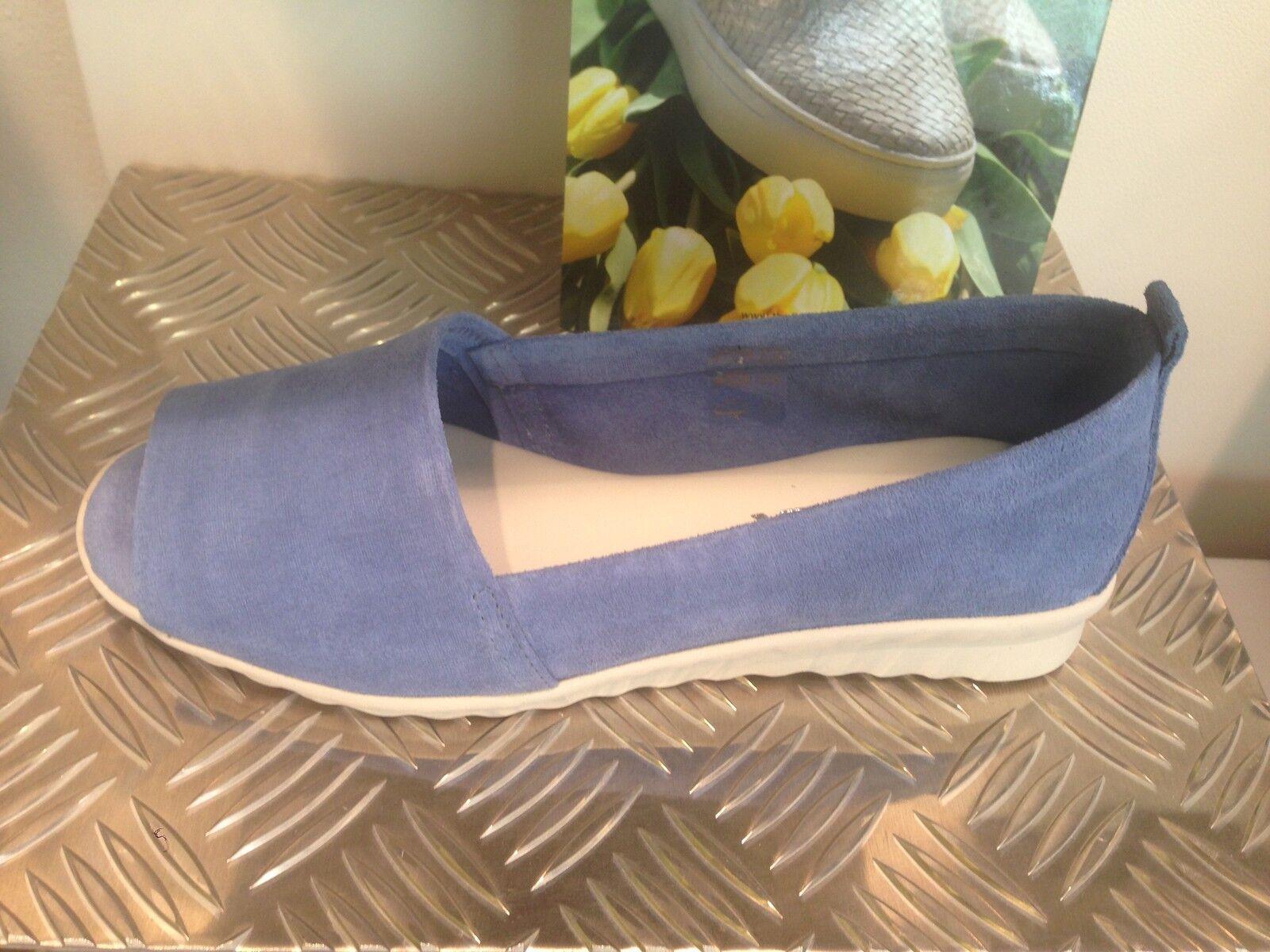 TheFlexx aus Italien Ballerina Peep Toe blue