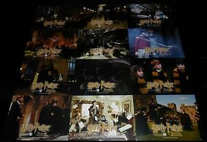 2001-Harry-Potter-and-the-Sorcerer-039-s-Stone-ORIGINAL-LOBBY-CARD-SET-J-K-Rowling