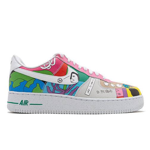 Size 10.5 - Nike Air Force 1 Low x Ruohan Wang Multi-Color 2020 ...