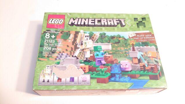 Lego Minecraft 21123 The Iron Golem 208pcs New Sealed 2016
