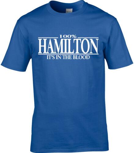 Hamilton Surname Mens T-Shirt 100/% Hamilton Reunion Party Name Gift Family