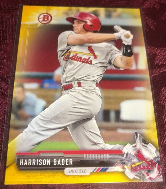 af2e67a1d Harrison Bader 2017 Bowman Prospects Retail YELLOW  BP143 - St Louis  Cardinals