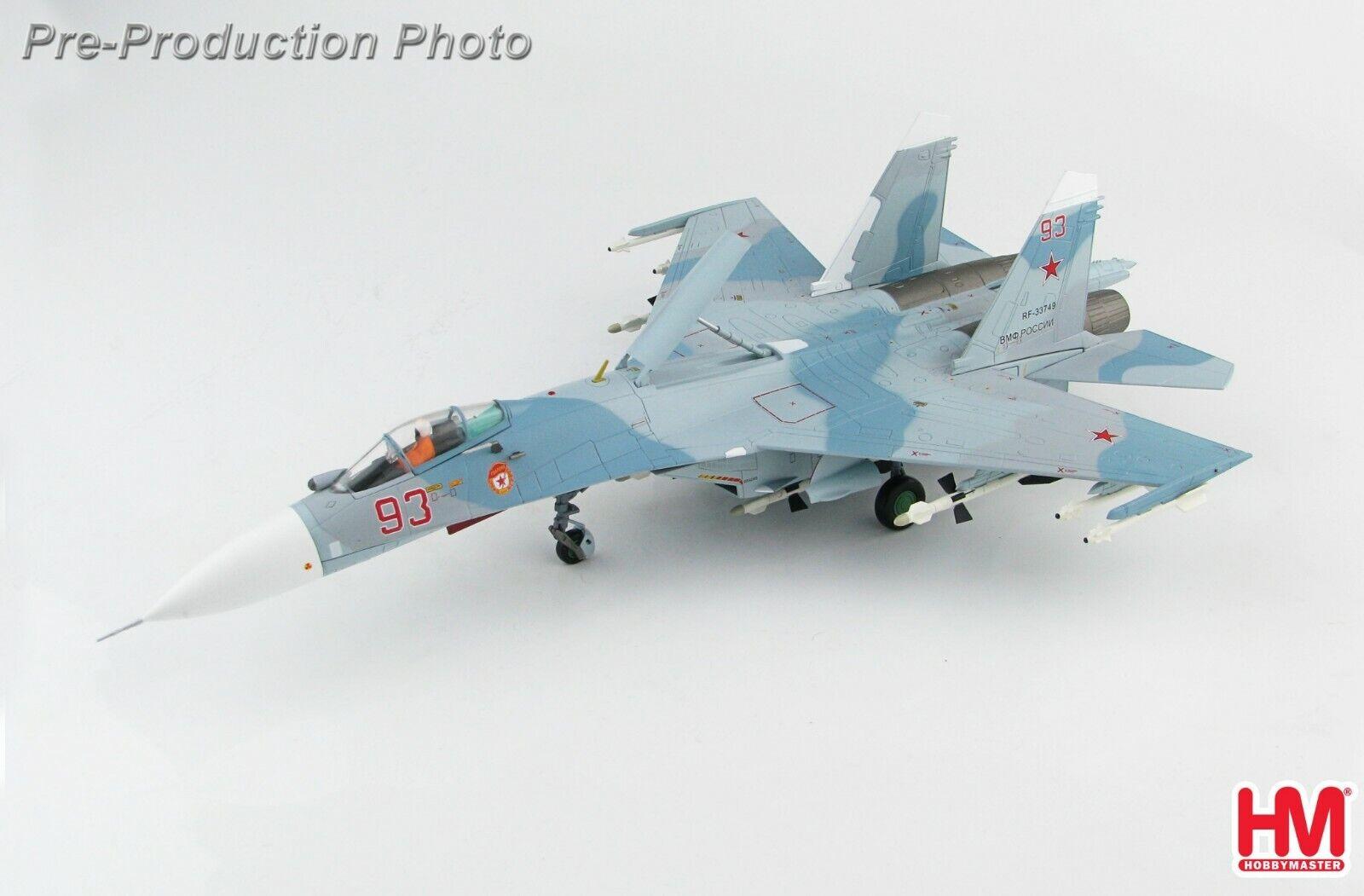 Sukhoi Su-27 Flanker-B  rouge 93 Baltic Fleet Russian Navy 2017 Hobbymaster HA6006  produits créatifs