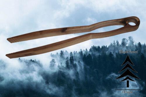 Grillzange Holz Akazie BBQ Hergestellt im Schwarzwald