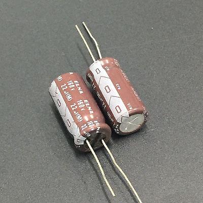 50pcs 16V 2700uF 16V  Japan ELNA RJ4 12.5x22mm Audio Capacitor