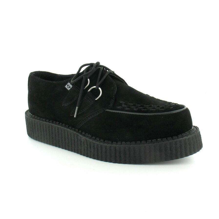 Tuk Av7270 T.U.K. New Unisex Viva Lo Sole Creepers shoes Black Suede A7270