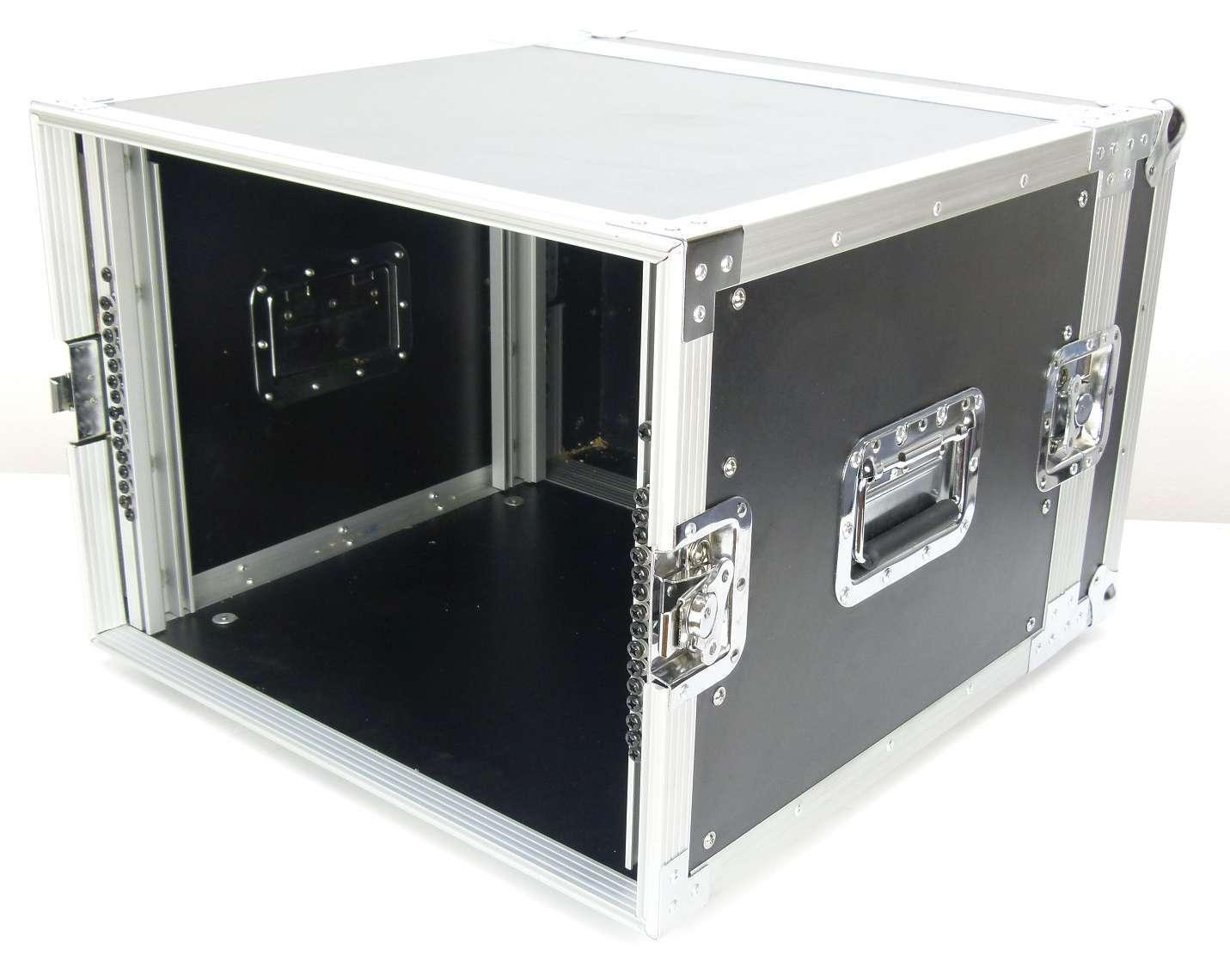 8 HE 19  RODINGER Verstärkerrack Endstufenrack 8HE Amprack 47 cm tief Rack Case