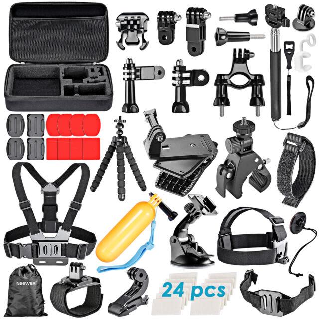 Neewer 58-in-1 Momopiede Kit per GoPro 4/3+/3/2/1 SJ4000/5000/6000
