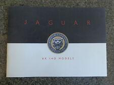 1955 JAGUAR XK140 SALES  BROCHURE  100% GUARANTEE