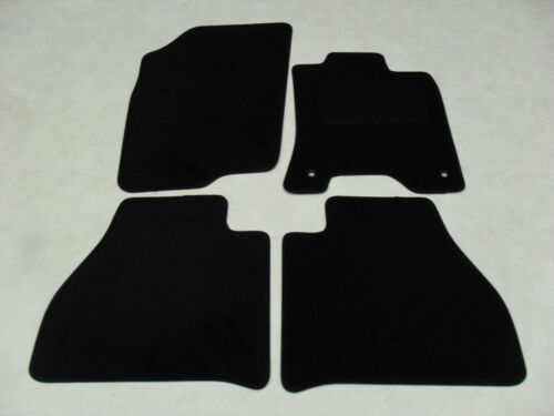 Fits Fully Tailored Deluxe Car Mats in Black Nissan Navara 2016-onwards