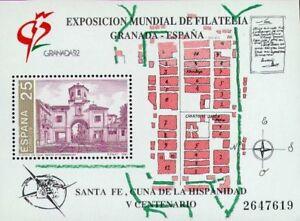 CF6138-Espana-1991-HB-Exposicion-Mundial-de-Filatelia-MNH