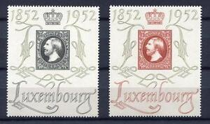 39822) Luxembourg 1952 MNH Centilux 2v