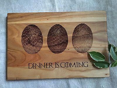 Wonderful Game Of Thrones, Dragon Eggs Wooden Cutting Board, Kitchen Board, Cheese  Board