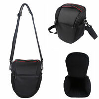 Camera Case Bag for Canon EOS T1i-6i SL1 T3 XS XSi EOS-M EOS-M2 100D-1300D Black