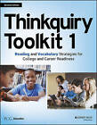 Thinkquiry Toolkit 1: Reading and Vocabulary Strategies for College and Career Readiness by Public Consulting Group (Paperback, 2016)