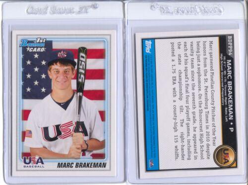 Qty Disc 20/%-35/% 2010 Bowman Draft Prospects #61-#110 List 2 Card Lots