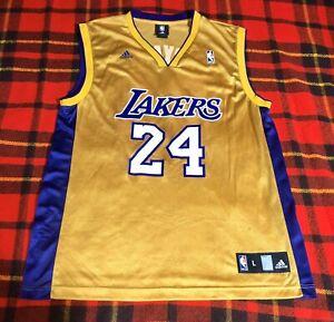 Kobe BRYANT Los Angeles Lakers Basketball Mamba Top Vintage Season NBA Jersey