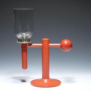 Ruppel-Werke Gotha Bauhaus Windlicht Kerzenleuchter - Entwurf Marianne Brandt