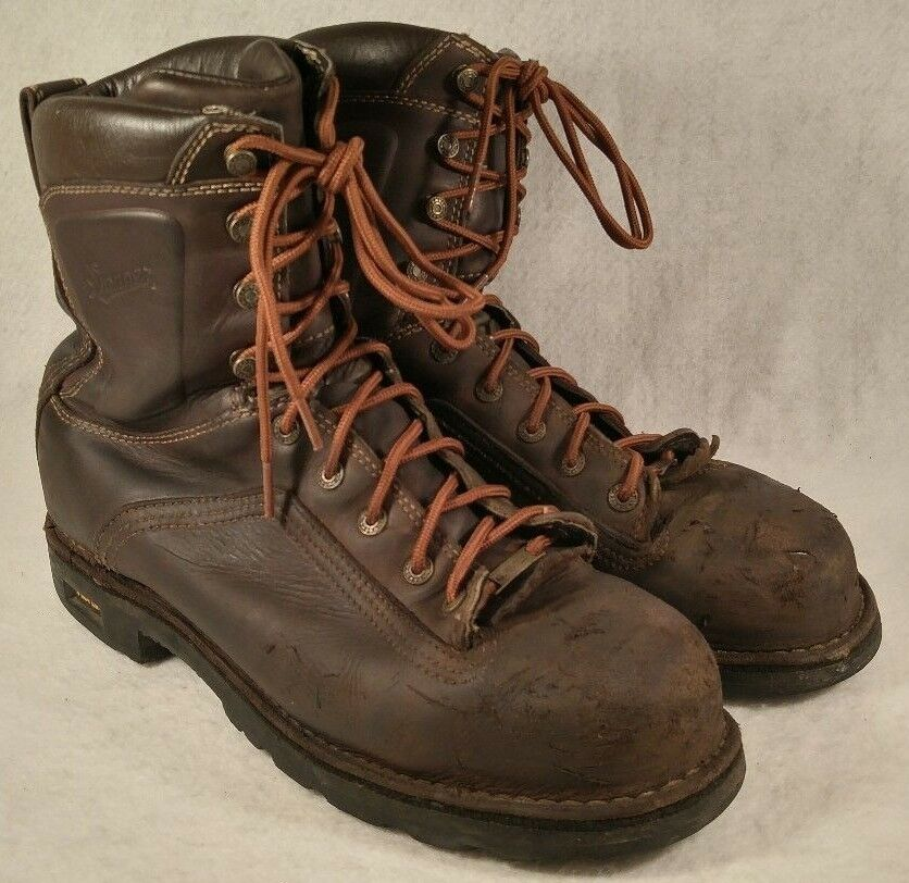 Danner Quarry 8  braun AT Leather Safety Safety Safety Toe Insulated Work Stiefel 14548 Men 11.5 62fe1c