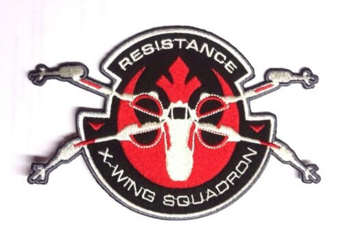 """Star Wars Force Awakens 6/"""" X-Wing Squadron Resistance Patch SWPA-FA-11"""