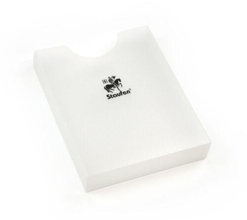 Öffnung oben Heftbox PP A4 klar Staufen; #Heftbox# 92900 1 Fach