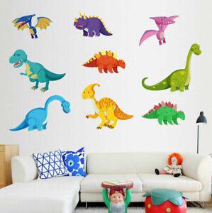 Cute-Dinosaur-Wall-Stickers-Kids-Boys-Nursery-Home-Decor-Art-Mural-Wall-Decal