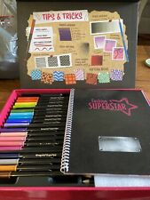 Crayola Fashion Superstar Coloring Book Marker 95 0291 For Sale Online Ebay