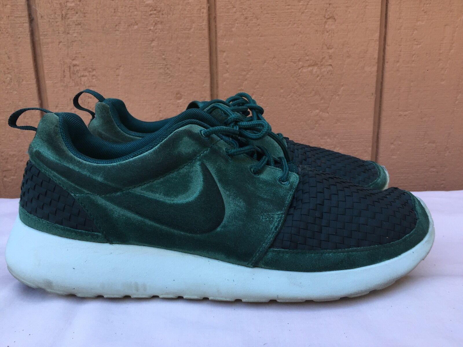 Nike Rosherun Woven Dark Atomic Teal Green 555602-334 Mens US Sz 7.5