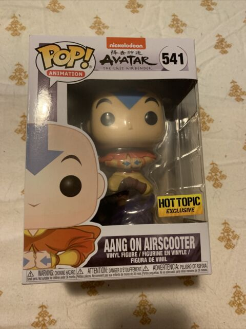 Funko Pop! Avatar The Last Airbender Aang On Airscooter Hot Topic Exclusive