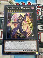Limited Edition VLP YUGIOH Ebon Illusion Magician SHVI-ENSE1 Super Rare