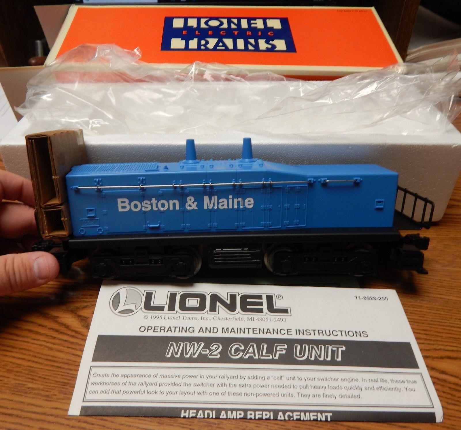 LIONEL 6-18929 BOSTON & MAINE CALF UNIT NEW IN BOX O SCALE NICE LQQK