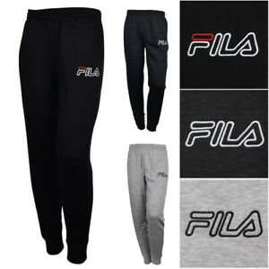 Fila-Men-039-s-Outlined-Embroidered-Logo-Athletic-Gym-Jogger-Sweatpants