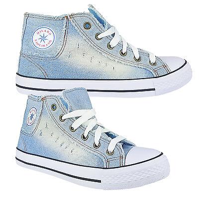 Sneakers High Low Authentic KlassikerJeansTurnschuhe Schnürsenkel Schuhe