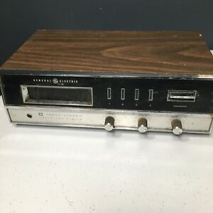 Vintage GENERAL ELECTRIC 8 Track Stereo Player M8621A