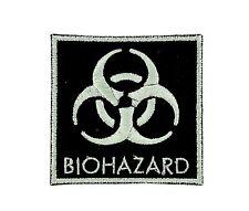 AUFNÄHER Patch Aufbügler biohazard Bügelbild zombie outbreak warning