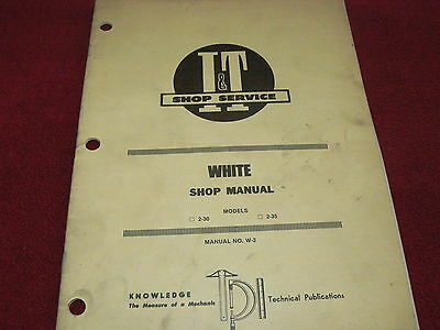 Oliver 2050 2150 Tractor I/&T Shop Manual CHPA