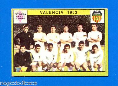 FIGURINA CALCIATORI PANINI 1968//69 VALENCIA 1962 RECUPERO