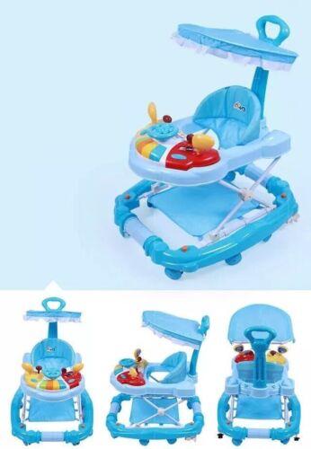 3 en 1 Walker//Rocker en 4 couleurs avec amovible jouets et réglage en hauteur