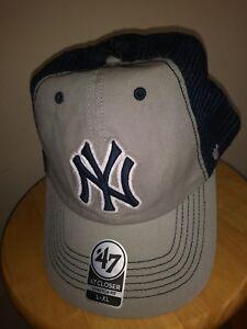 59427a55 New York Yankees Hat NY Cap 47 Brand Taylor Closer TB Mens L-XL ...