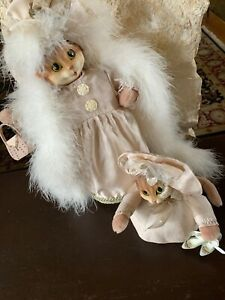 Fancy-Cat-Kitten-Weighted-Doorstop-Or-Table-Statue-Live-Art-Purse-Shoes-Boa-h18