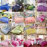 Single Double King Size Duvet Cotton Cover Pillow Case Quilt Cover Bedding Set
