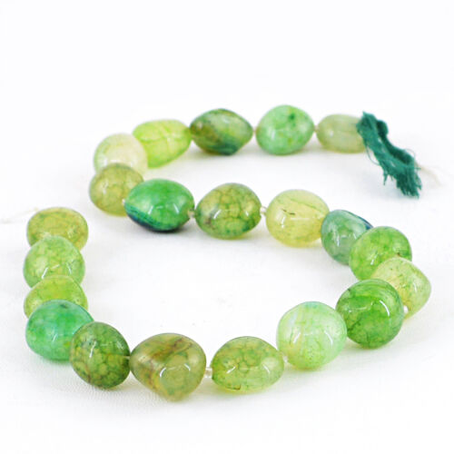 Details about  /382.70 CTS 14 INCHES NATURAL DRILLED RICH GREEN ONYX UNTREATED BEADS STRAND