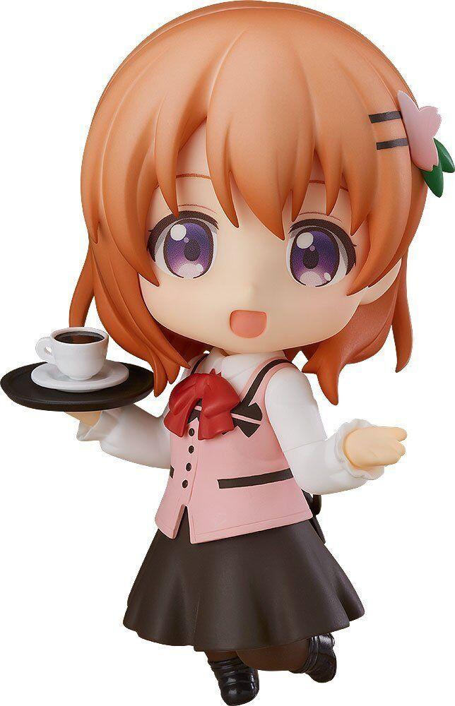 bra leende företag är the Order a Rabbit Cocoa Nendguldid Action Figur