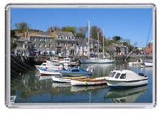 Padstow Cornwall England Fridge Magnet 01