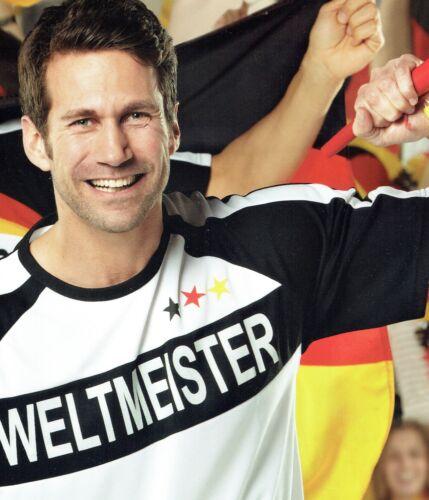 Weltmeister Deutschland Germany Fußball Fan Trikot T-Shirt WM-Länder-T-Shirt WM