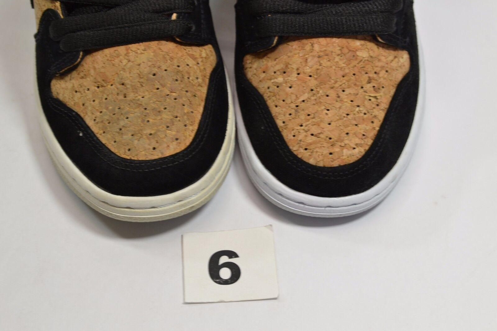 Nike dunk sb schwarz - weiße hohe hohe weiße prämie haselnuss - cork