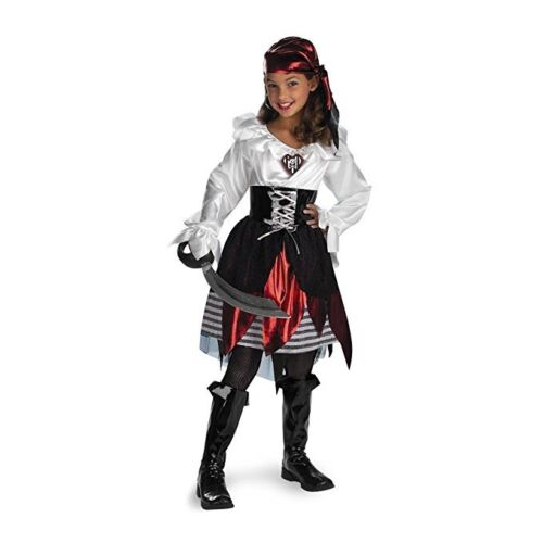 Pirate Lass Kids Child Costume For GirlsDisguise 208
