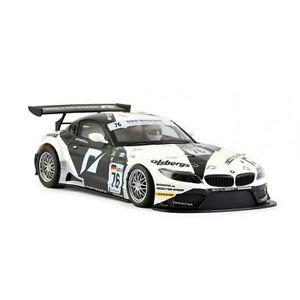 Nsr 0011aw Bmw Z4 Noir / Blanc N.76 Fia Gt3 Championnat D'europe 2010 - Aw King