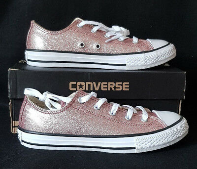 Canvas Rose Gold All Star Women's Converse Metallic Ox